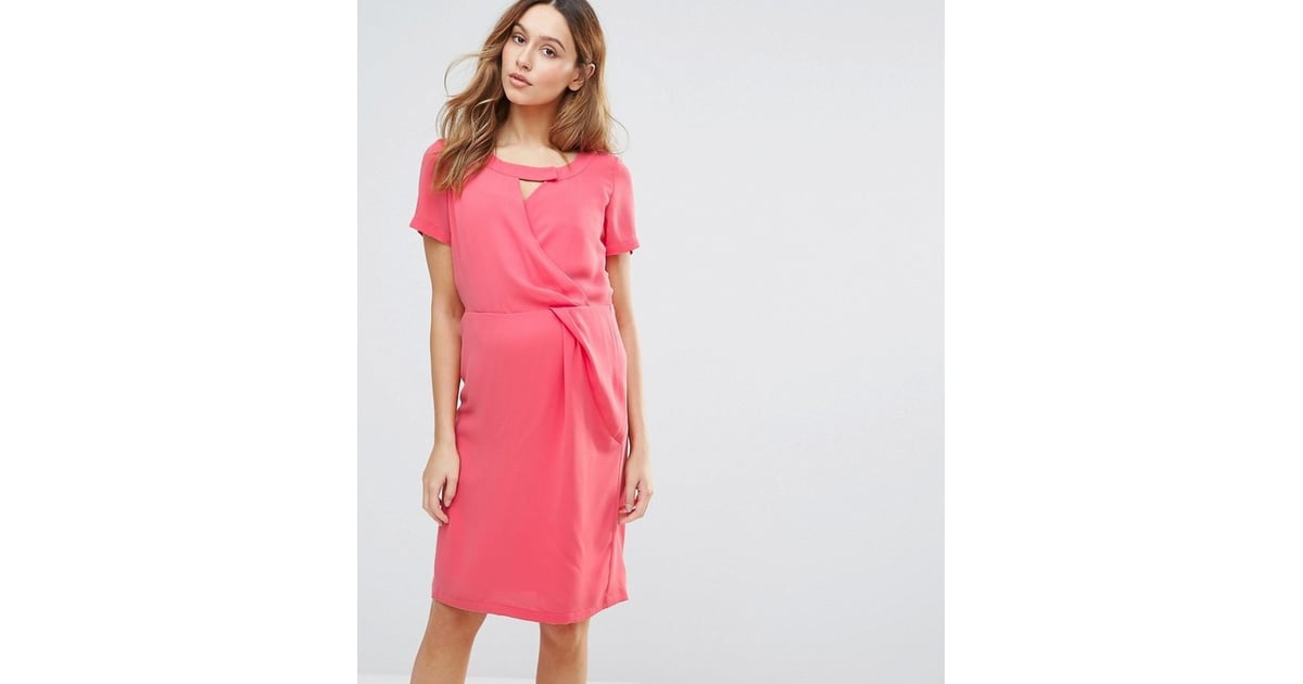 47fef271820c7 Mama.licious Maternity Nursing Dress With Cutout Neckline | Summer Maternity  Dresses From Asos | POPSUGAR Family Photo 16