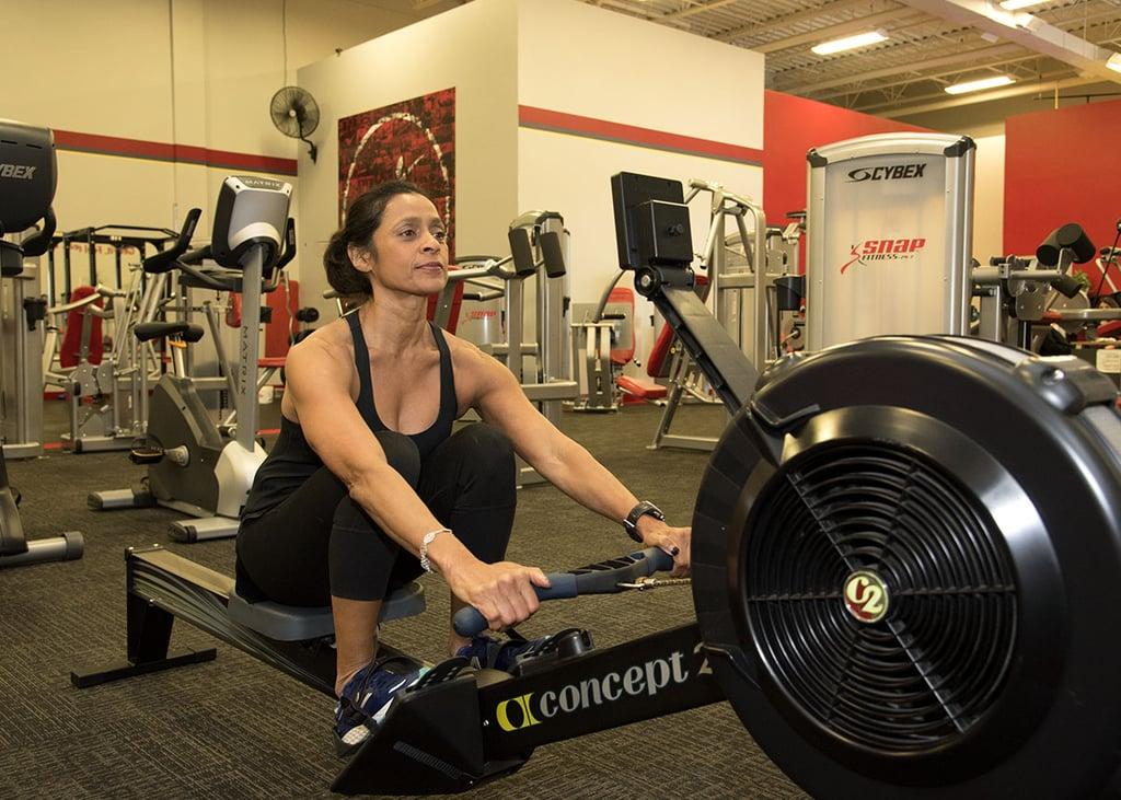 Cardio 1: Rowing Machine, 7 Minutes