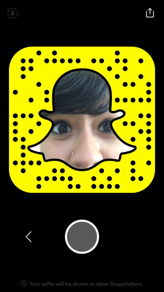 Snapcode Selfie