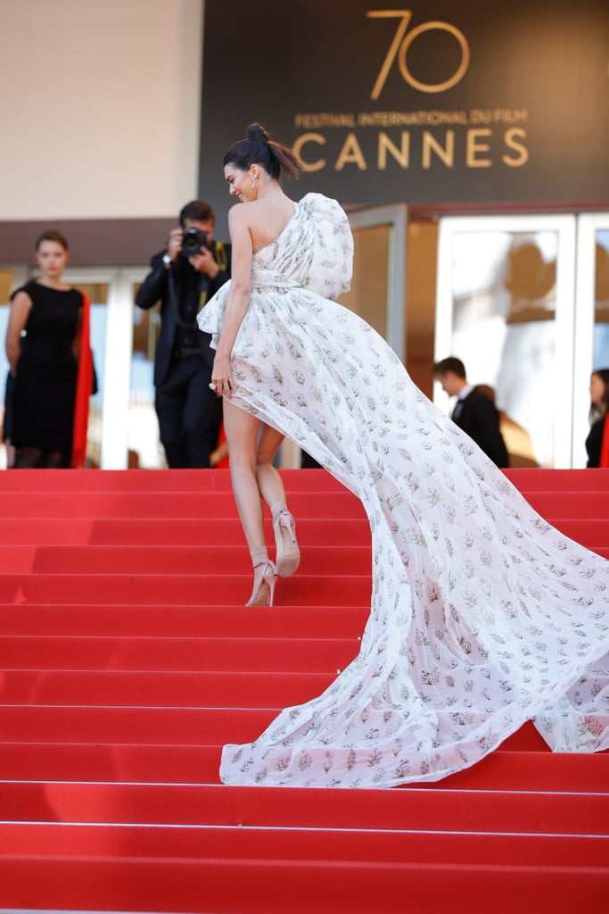 Kendall Jenner Giambattista Valli Dress at Cannes 2017