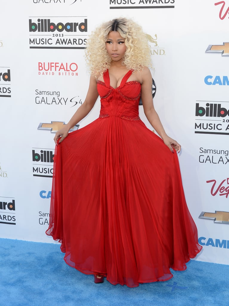 Nicki Minaj at the 2013 Billboard Music Awards.