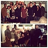 Taylor Swift compared the 2009 and 2014 Thanksgiving celebrations with her extended family.
