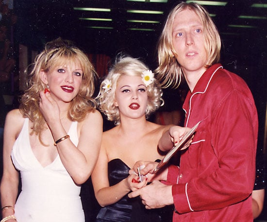 Drew Barrymore, Courtney Love, and her Hole bandmate Eric Erlandson were quite the sight in 1995.