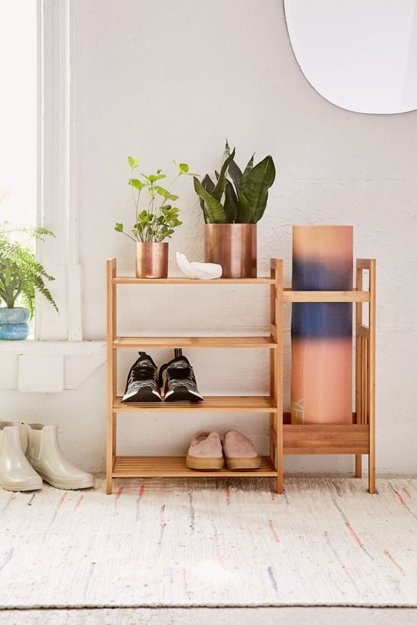 Bamboo Entry Way Organizer