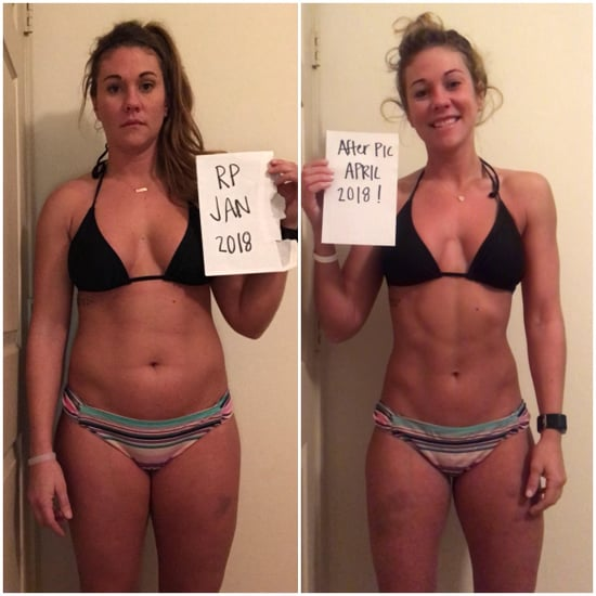 30-Pound Weight-Loss Before-and-After
