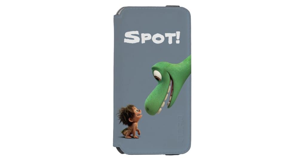 Spot And Arlo Closeup iPhone 6/6S Wallet Case