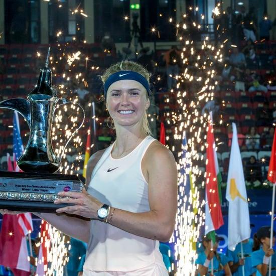 Elina Svitolina Wins 2018 Dubai Tennis Championships