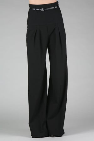 Black Halo High Waist Trousers ($168, originally $240)