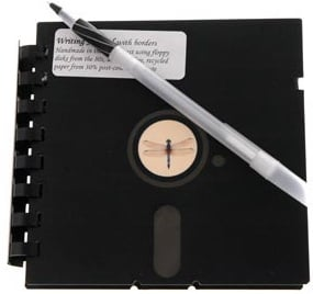 Totally Geeky or Geek Chic? Floppy Disk Journal