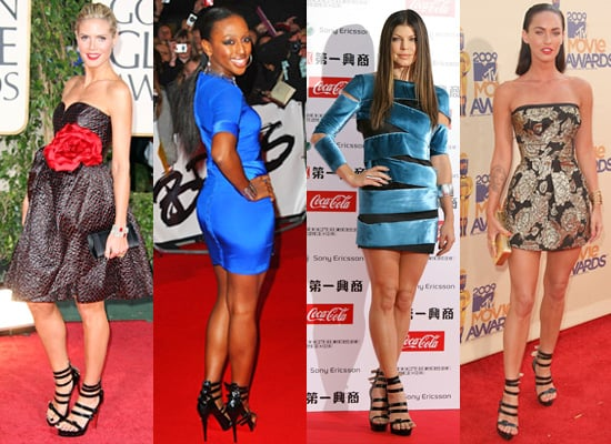 Photos of Heidi Klum, Alexandra Burke, Fergie and Megan Fox in Louboutin Differa Black Heels
