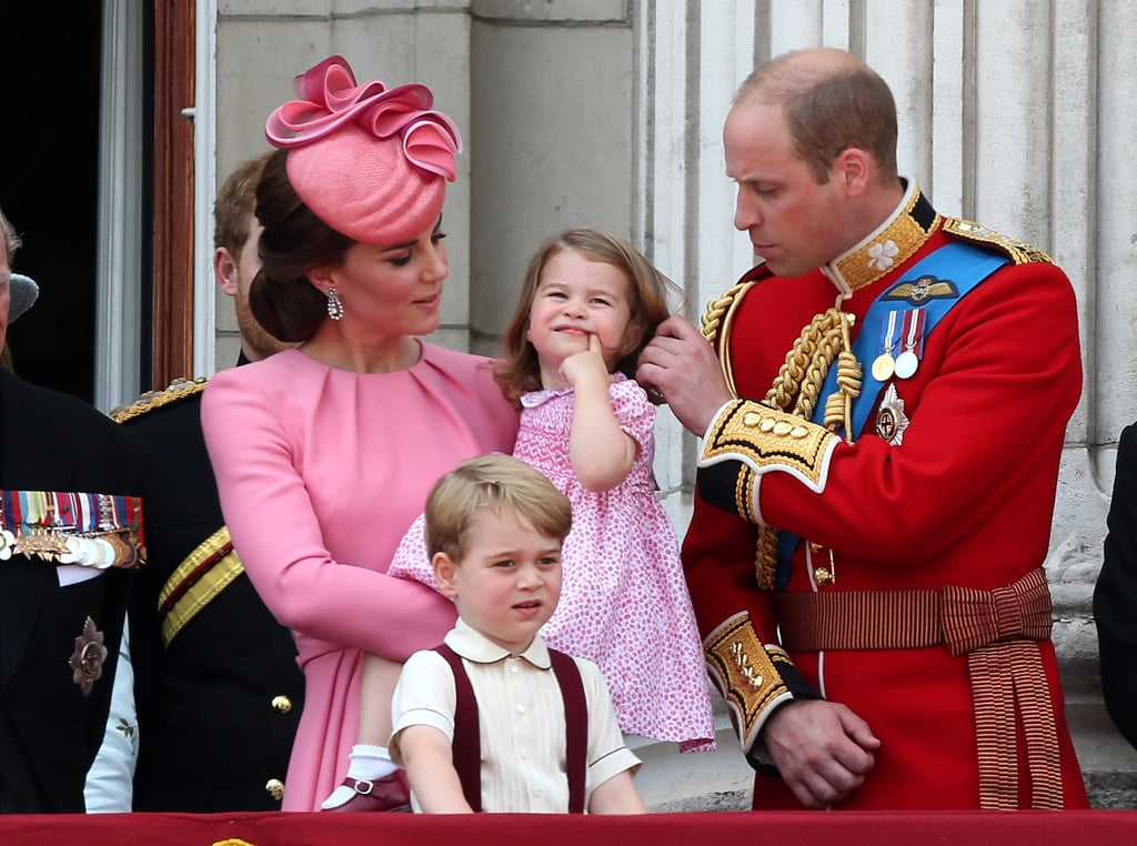 True to Form, Prince George and Princess Charlotte Steal the Spotlight at Trooping the Colour