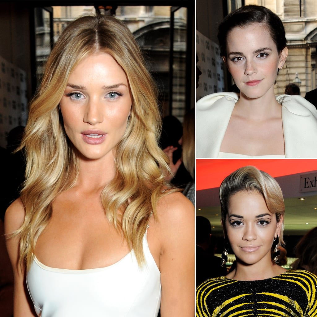 Rosie, Emma, and Rita Steal the Show at GQ's Man of the Year Party