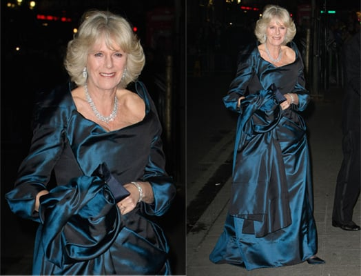 Camilla Parker-Bowles Attends Royal Variety Performance in Westwood