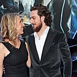 Aaron Taylor-Johnson and Wife Sam Cutest Pictures