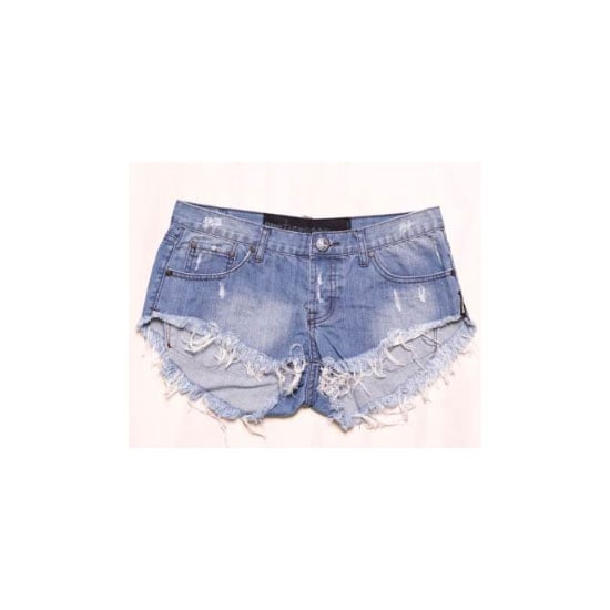 Denim cut-offs are a wardrobe staple for a reason. Invest in a pair of One Teaspoons — they do the best distressed washes. Shorts, $60, One Teaspoon