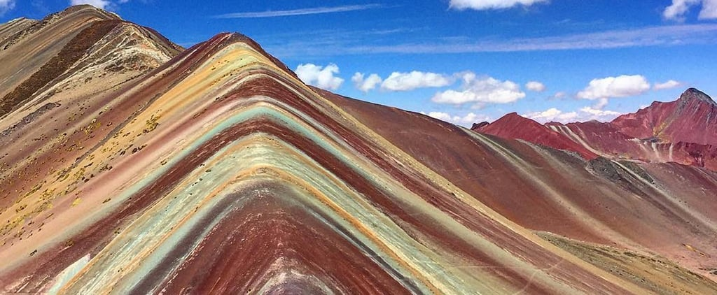 This Rainbow Mountain Looks Like Mother Nature Had Fun With Colored Sand