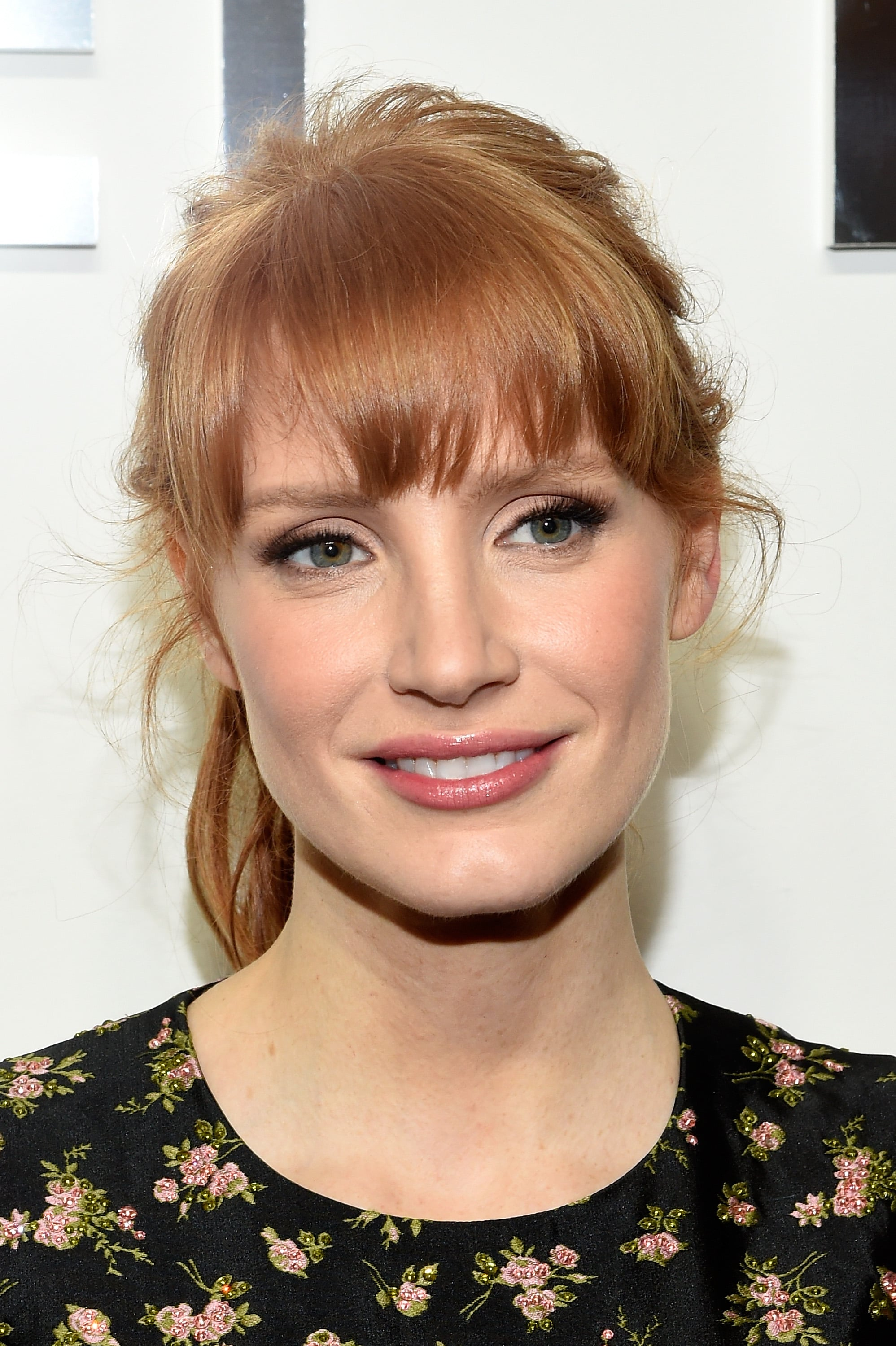 Jessica Chastain At Michael Kors These Celebrities May Be Prettier Than The Models At Fashion Week Popsugar Beauty Photo 3