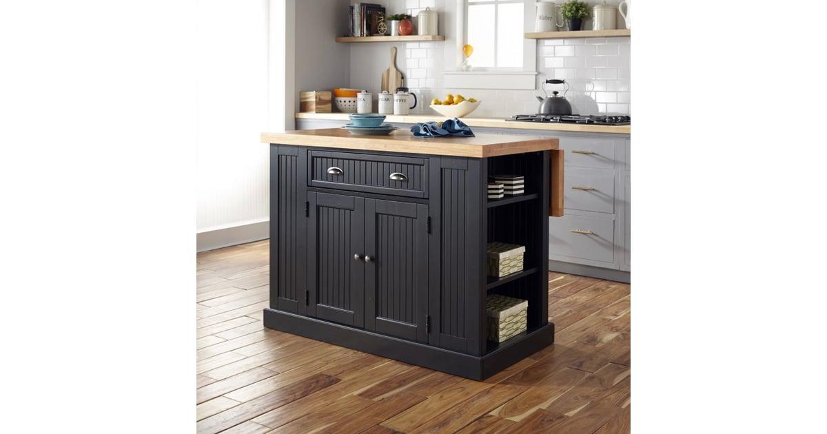Nantucket Solid Wood Top Kitchen Island | Keep Your Kitchen ...