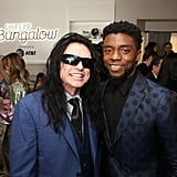 Pictured: Tommy Wiseau and Chadwick Boseman