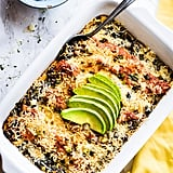Southwest Black Bean and Polenta Casserole