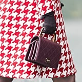 She Accessorised Her Outfit With a Gorgeous Chanel Handbag