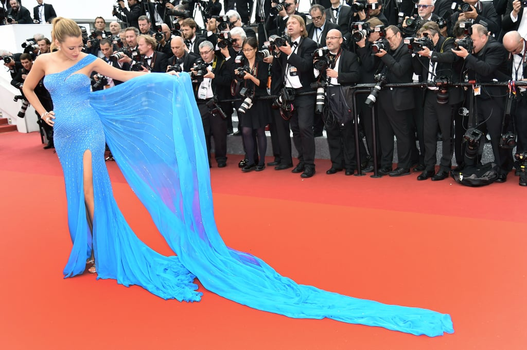 Blake Lively Disney Princess Dresses at Cannes 2016