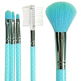 Mermaid Scale Makeup Brush Set
