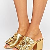 Asos Headliner Bow Detail Mule