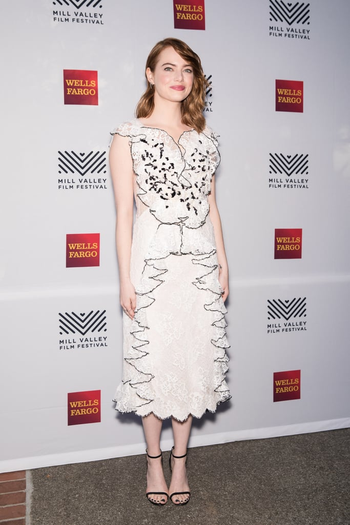 Emma Stone at the Opening Night of La La Land During the 2016 Mill Valley Film Festival