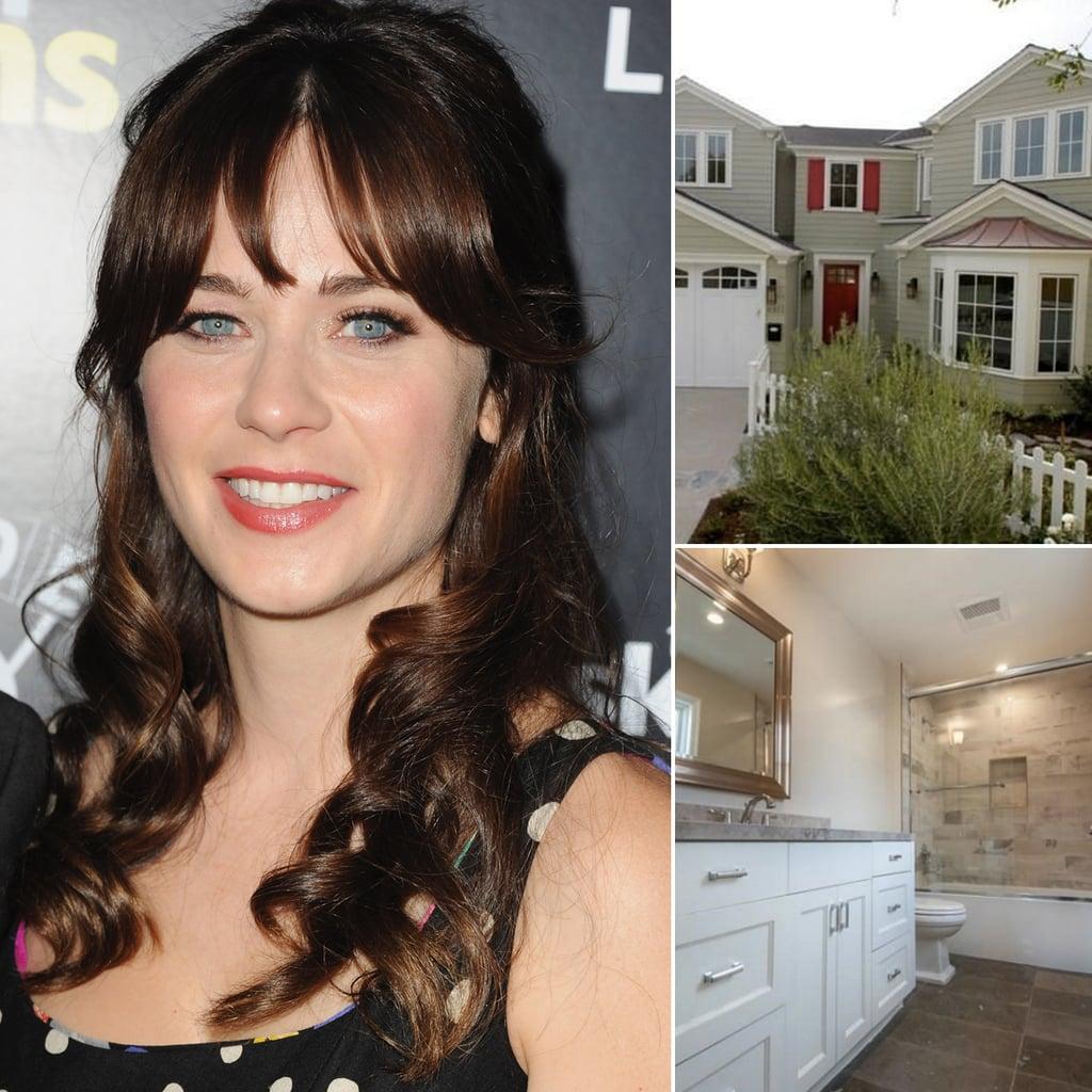 Zooey Deschanel Buys Suburban Home