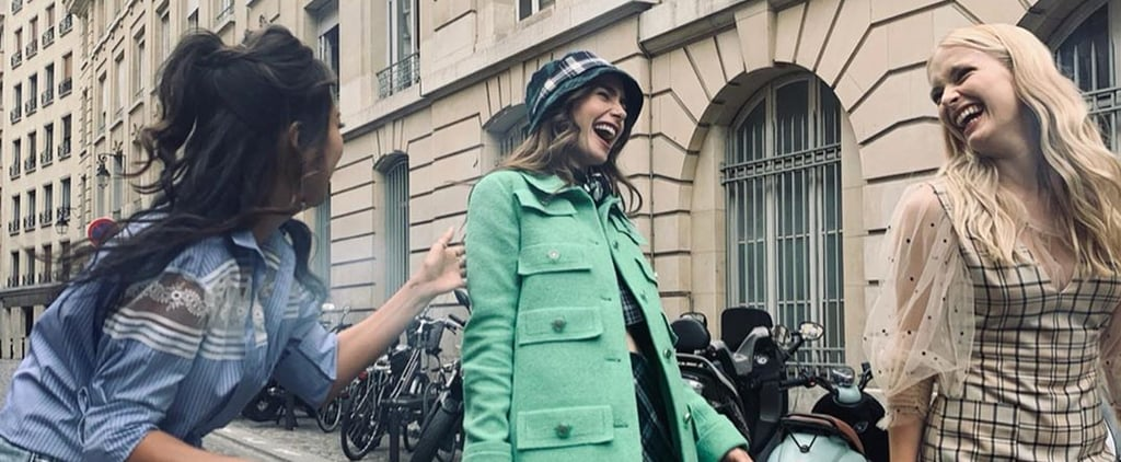 The Best Emily in Paris Behind-the-Scenes Cast Pictures