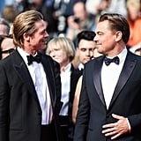 Brad Pitt and Leonardo DiCaprio at the Cannes Film Festival Premiere of Once Upon a Time in Hollywood