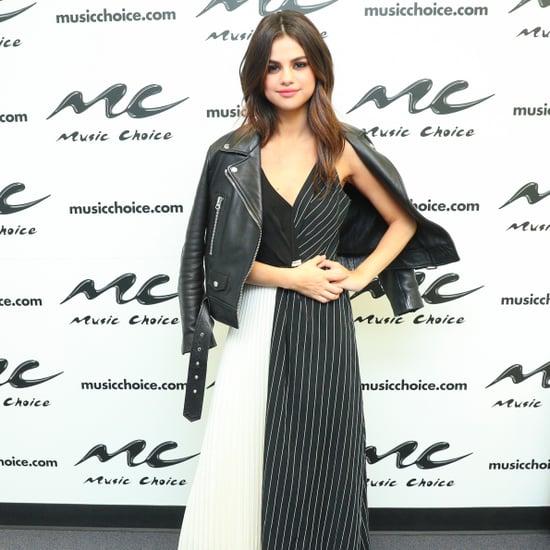 Selena Gomez Rocker Dress June 2017