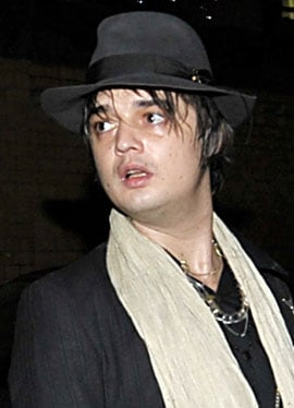 Photos of Pete Doherty Who Has Been Banned From Driving For 12 Months For Letting His Manager Drive His Car Without Insurance
