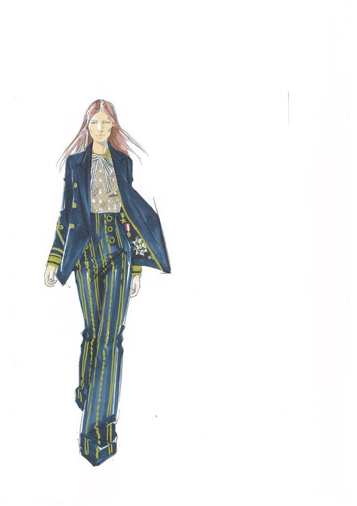 Hoffman Auto Group >> Designer Sketches From New York Fashion Week Fall 2016 | POPSUGAR Fashion Australia