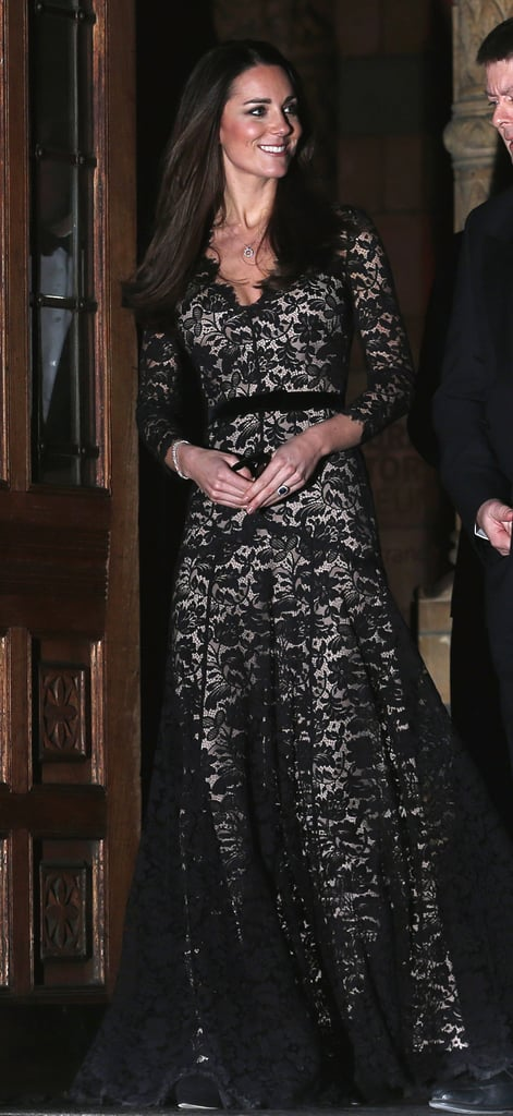 Wearing Temperley at a film screening at the Natural History Museum in December 2013.