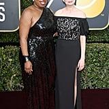 Tarana Burke and Michelle Williams