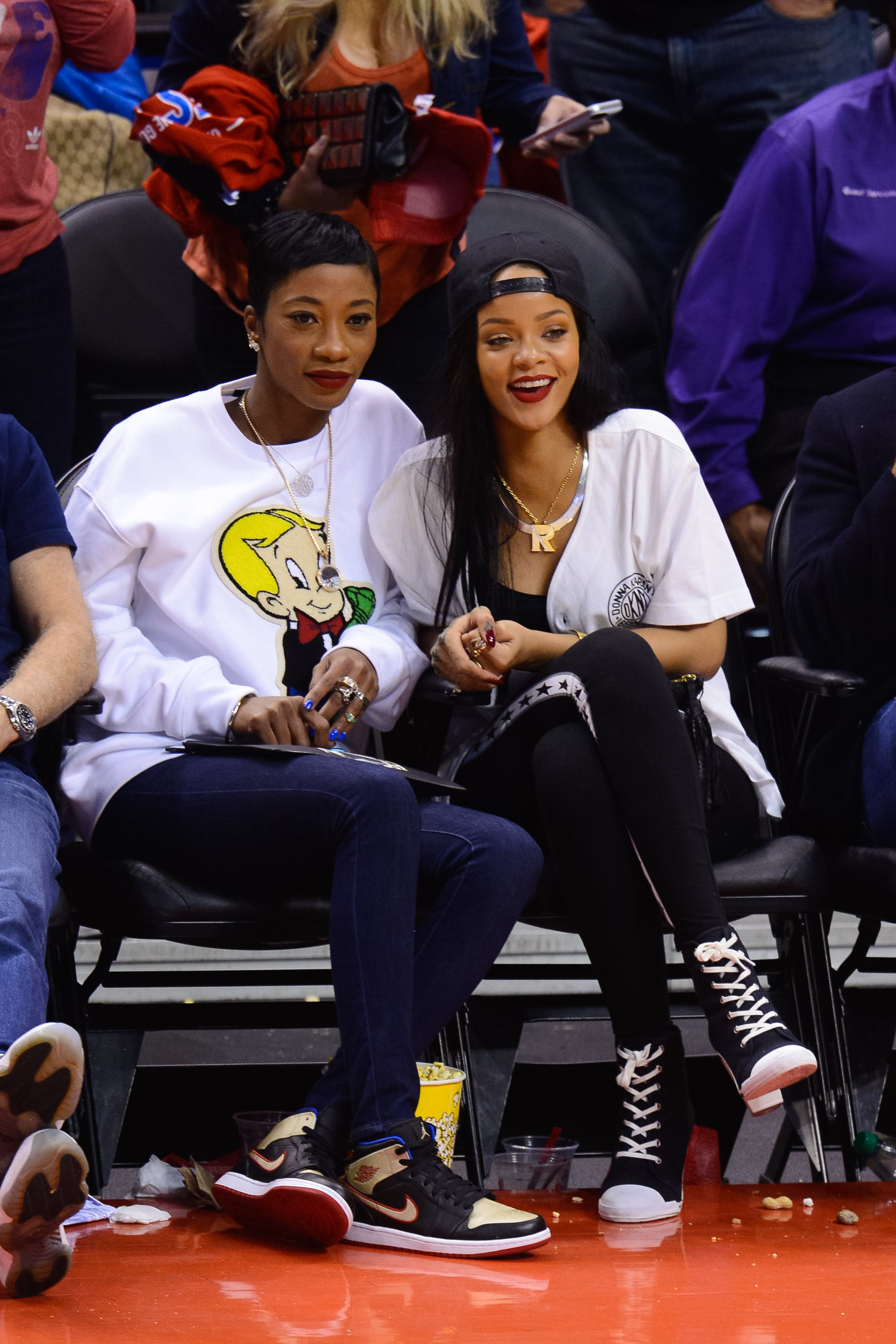 Courtside Giggles