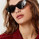 Urban Outfitters Galaxy Monocut Cat-Eye Sunglasses