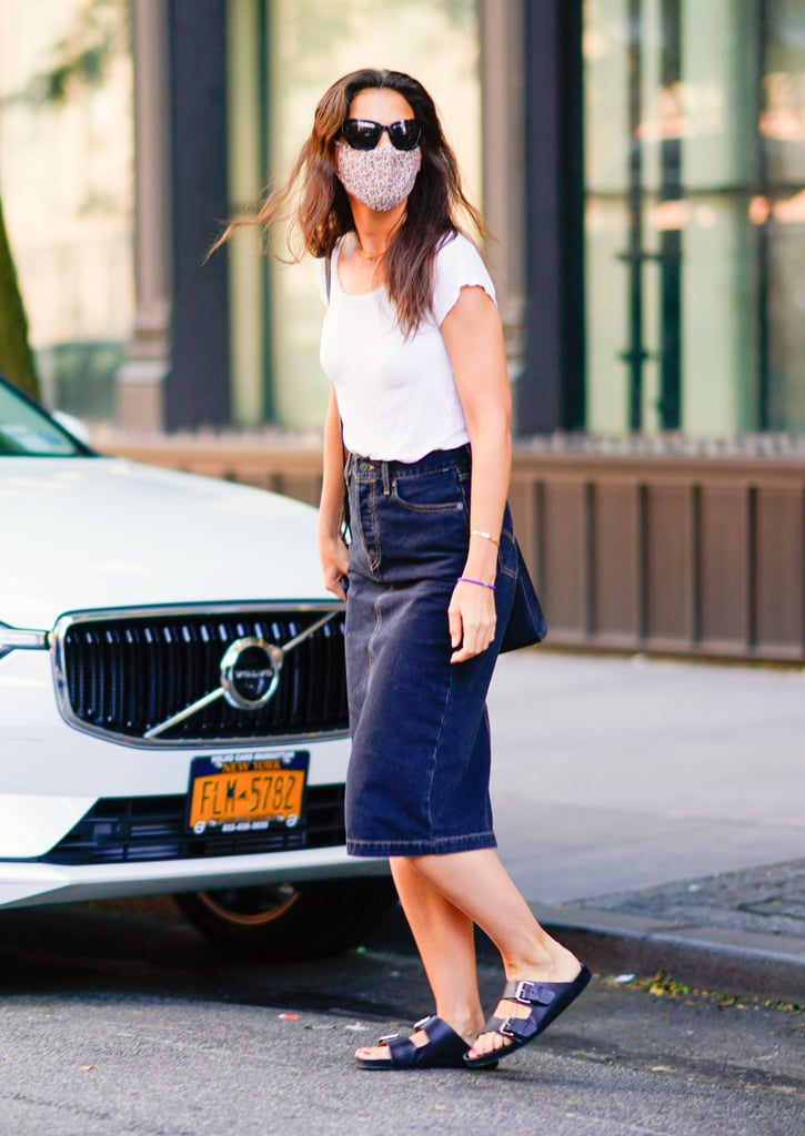 Katie Holmes's '90s Outfit in NYC