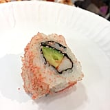 Spicy Caviar-Encrusted California Roll