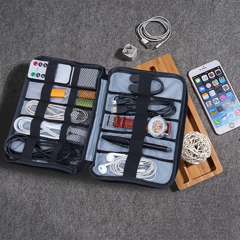 YIER Travel Electronics Accessories Organizer