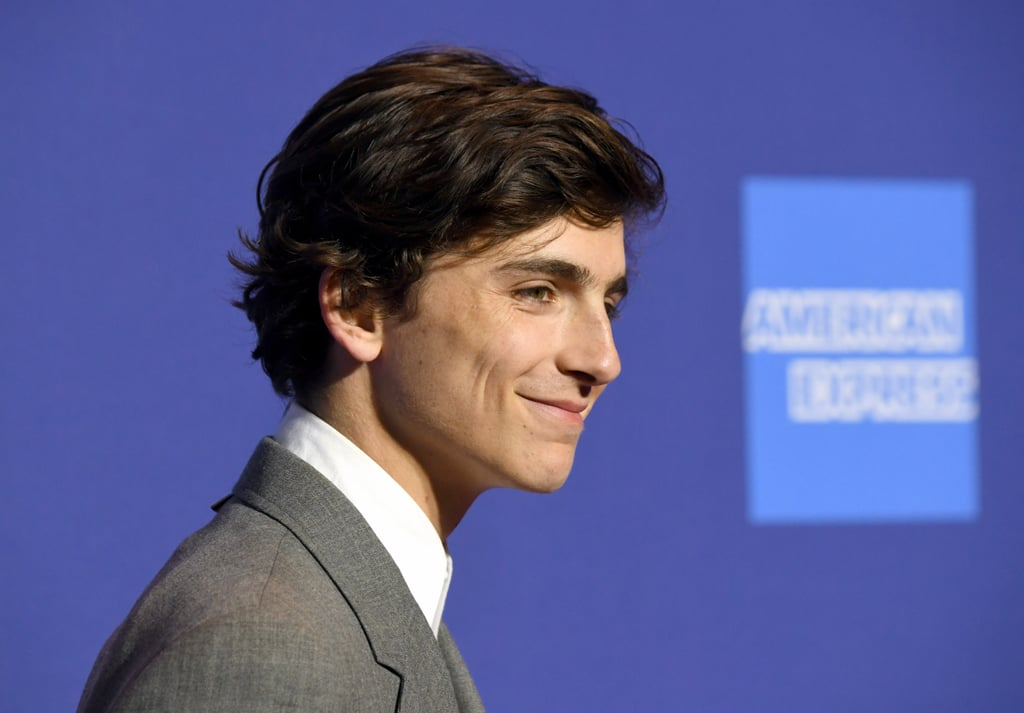 I probably would've done a lot better in math class if I'd used Timmy's jawline as my own personal protractor. That's probably a solid 107-degree angle right there, right?