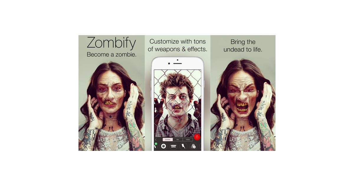 Zombie Yourself Popsugar Australia Tech