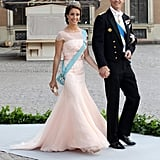 When It Comes to a Pastel Princess Gown, She Chooses the Most Flattering Shape