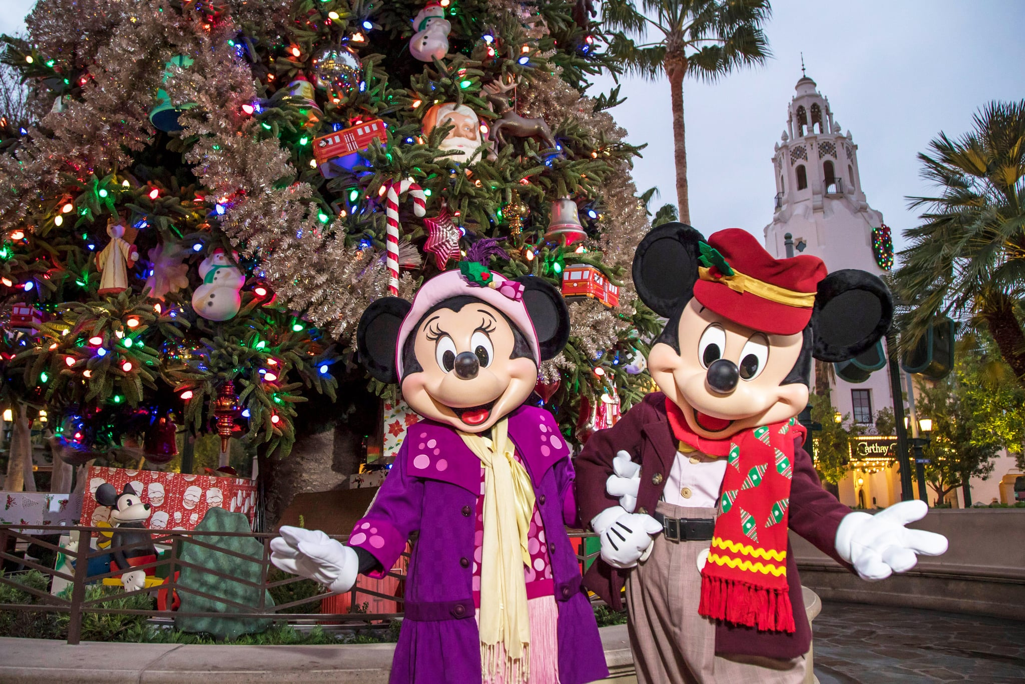 The Disneyland Resort transforms into the Merriest Place on Earth for the holiday season, Nov. 8, 2019, through Jan. 6, 2020. Guests plan their seasonal visits to Disneyland Resort year after year to experience beloved Holiday traditions and festive cheer, from snowfall on Main Street, U.S.A., to glistening décor, Disney-themed treats and merchandise, holiday entertainment and one-of-a-kind transformations that create it's a small world holiday and haunted mansion holiday