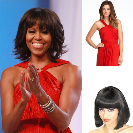 Michele Obama Gets Bangs