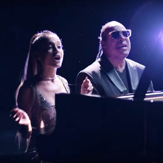 "Ariana Grande and Stevie Wonder ""Faith"" Video"