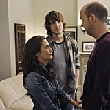 Addison Timlin, Scott Michael Foster, and Anthony Edwards in Zero Hour.