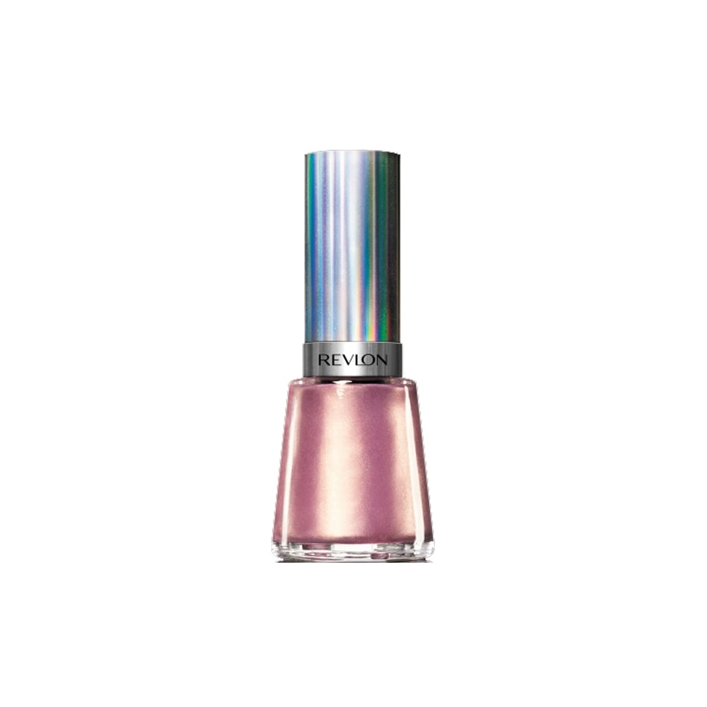 Revlon Nail Enamel ($13.95) Revlon has introduced four limited edition nail shades, formulated with professional grade micro foil pigments. The holographic finish refracts light to create a 3D rainbow look, while the chrome effect plays with light for an ultra-reflective metal like finish.